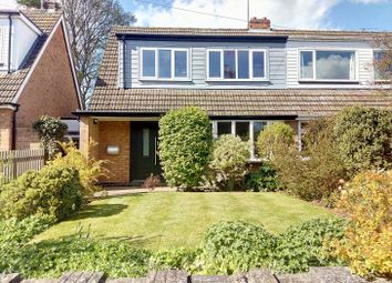 Thumbnail 3 bed semi-detached house for sale in Church Lane, Osgathorpe, Loughborough