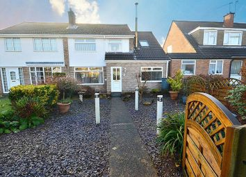 Thumbnail 4 bed semi-detached house for sale in Pilton Vale, Newport