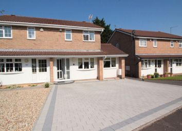 Thumbnail 3 bed semi-detached house for sale in Cresswell Close, St Mellons