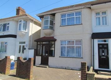 Thumbnail 5 bed end terrace house to rent in Bede Road, Chadwell Heath, Romford