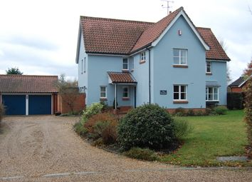 Thumbnail 4 bed detached house for sale in Bruisyard Road, Rendham, Saxmundham, Suffolk