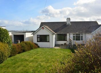 Thumbnail 3 bedroom semi-detached bungalow for sale in Kestle Drive, Truro, Cornwall