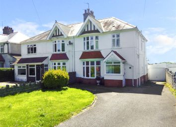 Thumbnail 3 bed semi-detached house for sale in Caswell Bay Road, Bishopston, Swansea