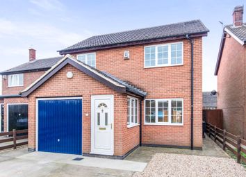 Thumbnail 3 bed detached house for sale in Brocklebank Close, Bassingham, Lincoln