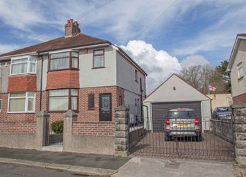 Thumbnail 3 bedroom semi-detached house for sale in Beaconfield Road, Plymouth