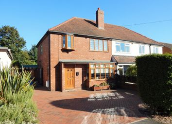 Thumbnail 3 bed semi-detached house for sale in Thorpe Street, Burntwood
