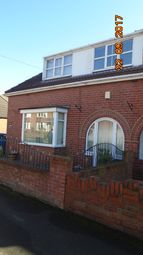 Thumbnail 2 bed semi-detached bungalow to rent in Church Street, Mexborough