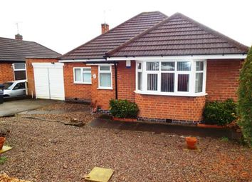Thumbnail 2 bed bungalow for sale in Church Hill Road, Thurmaston, Leicester, Leicestershire