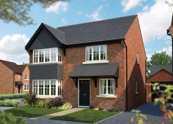 "Thumbnail 4 bed detached house for sale in ""The Canterbury"" at Burton Road, Streethay, Lichfield"