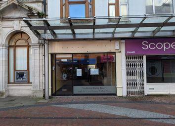 Thumbnail Restaurant/cafe to let in Stepney Street, Llanelli