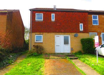 Thumbnail 2 bedroom end terrace house for sale in Mushroom Field Road, Ecton Brook, Northampton