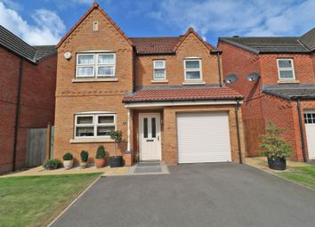 Thumbnail 4 bed detached house for sale in Harris Gardens, Epworth, Doncaster