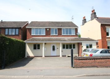 Thumbnail 4 bed detached house for sale in Castle Road, Hartshill, Nuneaton