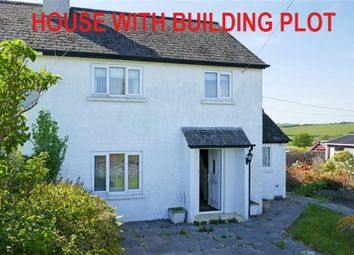 Thumbnail 3 bed semi-detached house for sale in Pinslow Cross, St. Giles-On-The-Heath, Launceston