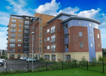 Thumbnail 1 bed flat to rent in Waterside Way, Wakefield