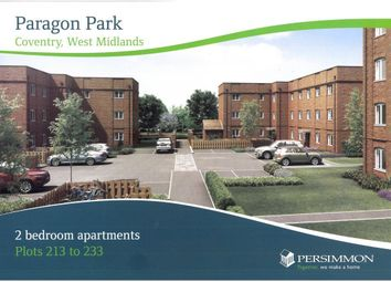 Thumbnail 2 bedroom flat to rent in Paragon Wharf, Coventry