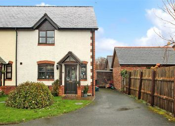 Thumbnail 3 bed semi-detached house for sale in Y Ddol, Penybontfawr, Oswestry