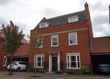 Thumbnail 5 bed link-detached house for sale in Sloeberry Road, Ipswich