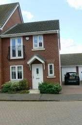 Thumbnail 3 bed end terrace house to rent in Julius Way, North Hykeham, Lincoln, Lincolnshire.