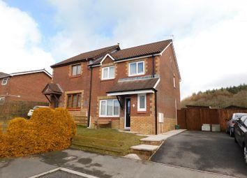 Thumbnail 3 bed semi-detached house for sale in Cae Rhedyn, Rhos, Pontardawe, Swansea.