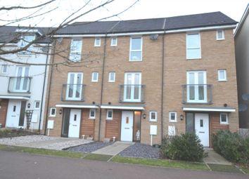 Thumbnail 4 bed terraced house for sale in Top Fair Furlong, Giffard Park, Milton Keynes