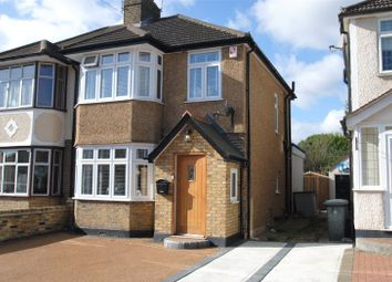 Thumbnail 3 bed semi-detached house for sale in Ashvale Drive, Upminster