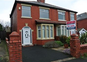 Thumbnail 3 bed semi-detached house for sale in Briercliffe Avenue, Blackpool