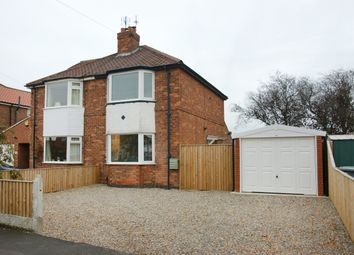 Thumbnail 2 bedroom semi-detached house for sale in Burnholme Grove, York