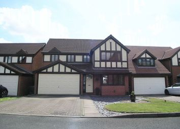 Thumbnail 4 bed detached house for sale in Dudley, Netherton, Monarch Way