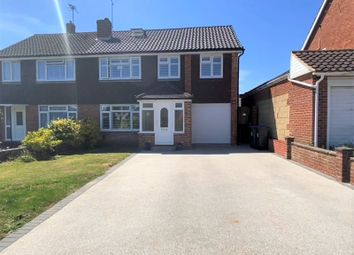 Thumbnail 5 bed semi-detached house for sale in Silverdale Drive, Sompting, West Sussex