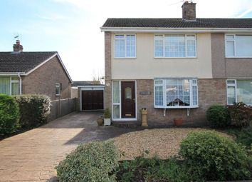 Thumbnail 3 bed semi-detached house for sale in Binhay Road, Yatton, North Somerset