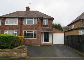 Thumbnail 3 bed semi-detached house for sale in Greenwich Avenue, Nottingham
