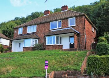 Thumbnail 3 bed semi-detached house for sale in Roffey Close, Purley