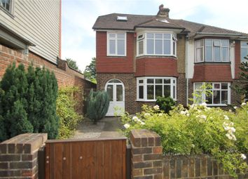 Thumbnail 4 bed semi-detached house for sale in Frindsbury Road, Frindsbury, Kent