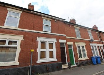Thumbnail 4 bed terraced house to rent in Pybus Street, Derby