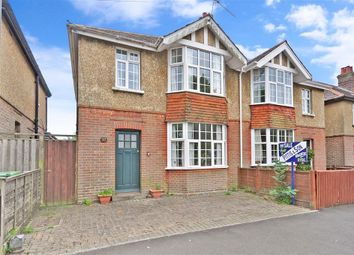 Thumbnail 3 bed semi-detached house for sale in Adelaide Place, Ryde, Isle Of Wight