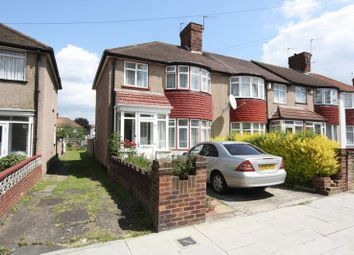 Thumbnail 3 bed terraced house to rent in Fraser Road, Perivale, Greenford