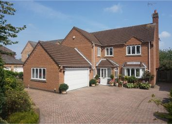Thumbnail 4 bed detached house for sale in Dunswell Road, Cottingham