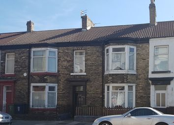 Thumbnail 3 bed terraced house for sale in Station Road, Redcar, Cleveland