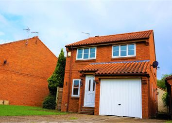 Thumbnail 3 bed detached house for sale in Con Owl Close, York