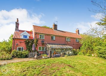 Thumbnail 4 bed cottage for sale in Langley Street, Langley, Norwich