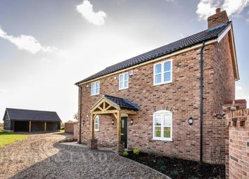 Thumbnail 4 bed detached house for sale in Norwich Road, Thurton