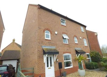 Thumbnail 3 bedroom semi-detached house for sale in East Water Crescent, Hampton Vale, Peterborough, Cambridgeshire