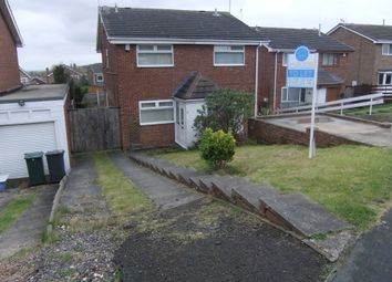 Thumbnail 2 bed semi-detached house to rent in Upperfield Road, Rotherham
