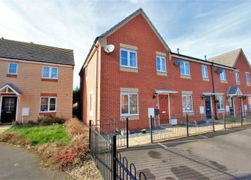 Thumbnail 3 bed end terrace house for sale in Brooklands Way, Bourne