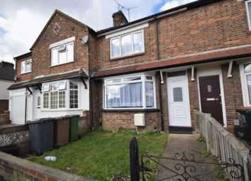 Thumbnail 2 bed terraced house to rent in Millfield Road, Luton