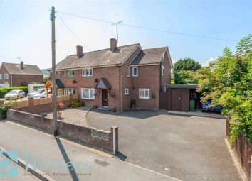 Thumbnail 4 bed semi-detached house for sale in Brook Road, Craven Arms