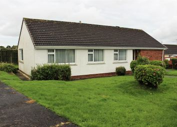Thumbnail 4 bed bungalow for sale in Haven Park Close, Haverfordwest