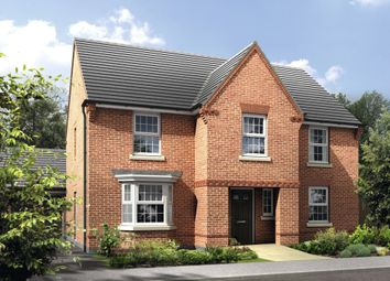 "Thumbnail 4 bedroom detached house for sale in ""Winstone"" at Rush Lane, Market Drayton"