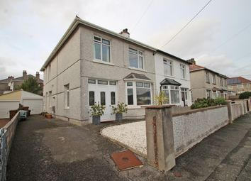 Thumbnail 3 bed semi-detached house for sale in Dean Park Road, Plymstock, Plymouth, Devon